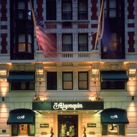 Algonquin Exterior Night