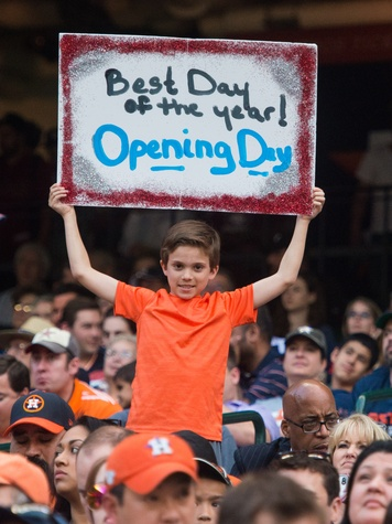 Astros fan sign