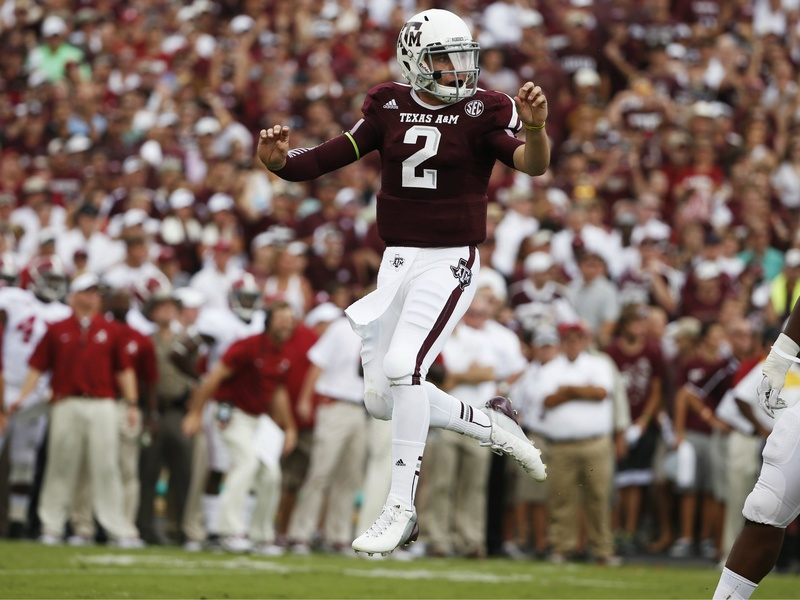 Johnny Manziel hop