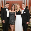 Jason and Kristin Kaminsky, from left, and Meg and Preston Kamin at the CancerForward Gala May 2014