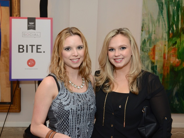 23 Christina Hartmann, left, and Shanna Stephenson at the CultureMap Social at Gremillion and Co. Fine Art March 2015