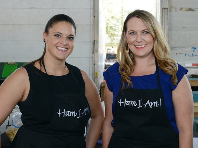 Ham I Am ladies at 2014 Raiser Grazer
