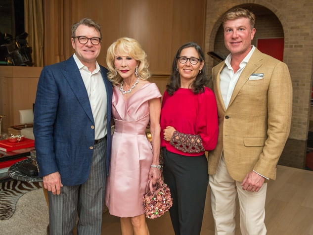 News, Shelby, French Ambassador dinner, April 2015, Bill Caudell, Diane Lokey Farb, Diana Untermeyer, Randy Powers