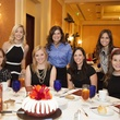 Chelsea Carr, Stacy Kaplan, Kathy Rogers, Jane Rozelle, Laura Reeder, Beth Kiefer, Zoe Horton at 2014 On the Move Luncheon