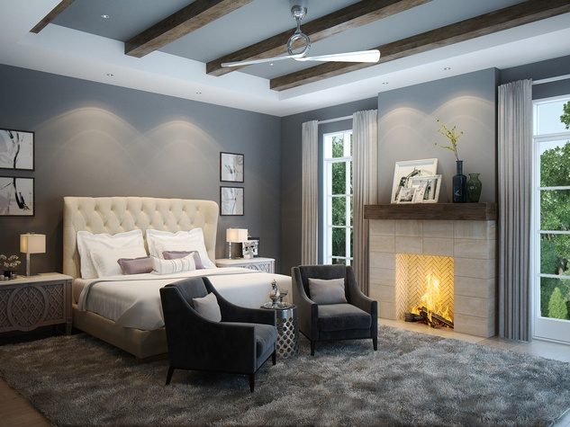 Houston, News, Shelby, Sudhoff Hampton Lane Collection, April 2015, 6018 Pine Forest - bedroom