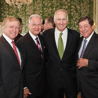 Men of Distinction luncheon Houston May 2013 Jesse Tutor, Harry Mach, Jim Crownover, Jack Kendall