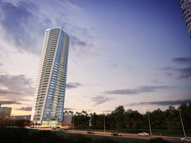 Hermann Park twist tower rendering