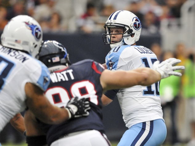J.J. Watt rushing Titans