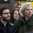 Daniel Bruhl and Benedict Cumberbatch in The Fifth Estate