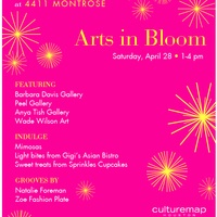 Arts in Bloom - A CultureMap Pop-up Affair at 4411 Montrose