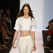 BCBG Max Aria crop top fashion week spring 2014