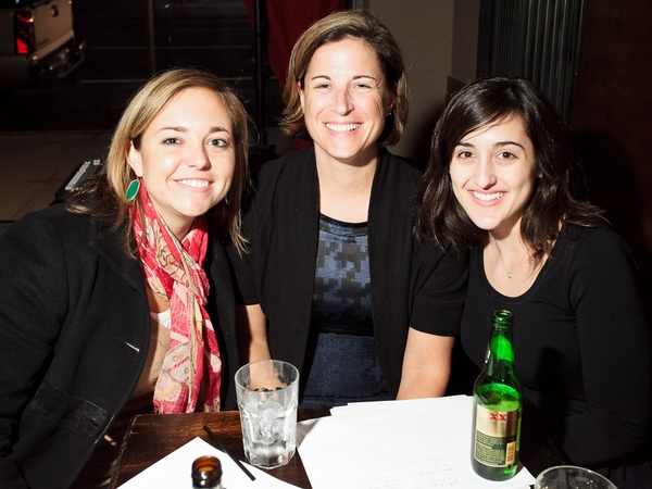 Reserve 101 anniversary party, January 2013, Tricia Clark, Jessica Mann, Hannah Ourso