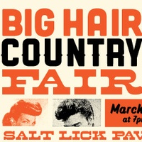 Austin photo: Event_Big Hair Country Fair_Poster