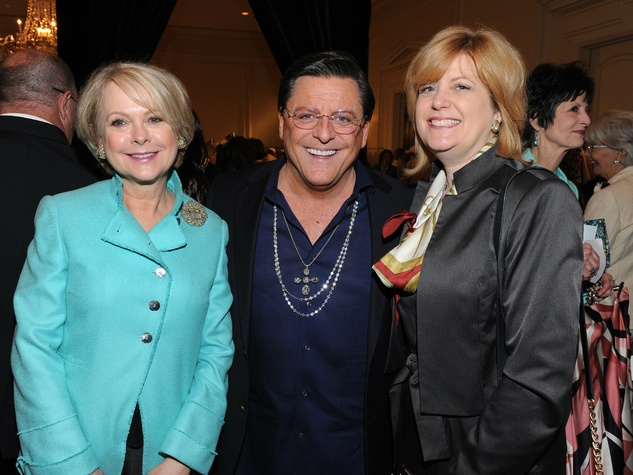 Carol Ronchetti, Joe Pacetti, Elizabeth Hunt-Blanc, Salvation Army Luncheon