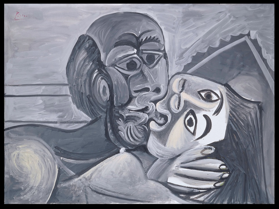 MFAH, Picasso, The Kiss