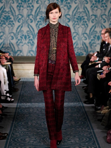 Fashion Week fall 2013, February 2013, Tory Burch