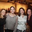117 Claire Bey, from left, Cuqui Baum, Wendy Bera and Deborah Ginsburg at the Child Advocates luncheon December 2013