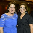 Jes Hagale, left, and Nancy Ruez at the Hospice Butterfly luncheon April 2014