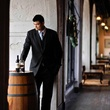 Yao Ming, wine, wine barrel