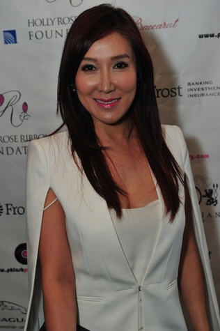 Mandy Kao at the Holly Rose Ribbon Foundation Day dinner September 2014