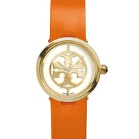 Tory Burch watch collection October 2014 The Reva in orange dae3c2eb67