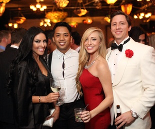 News, Homemade Hope party, Dec. 2015, Janessa Young, Michael Ou, Shelby McKechnie, Houston Morgan.
