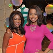 244 Jacquie Baly, left, and Melinda Spaulding at the Third International Mothers Day Soiree Kick-off March 2015