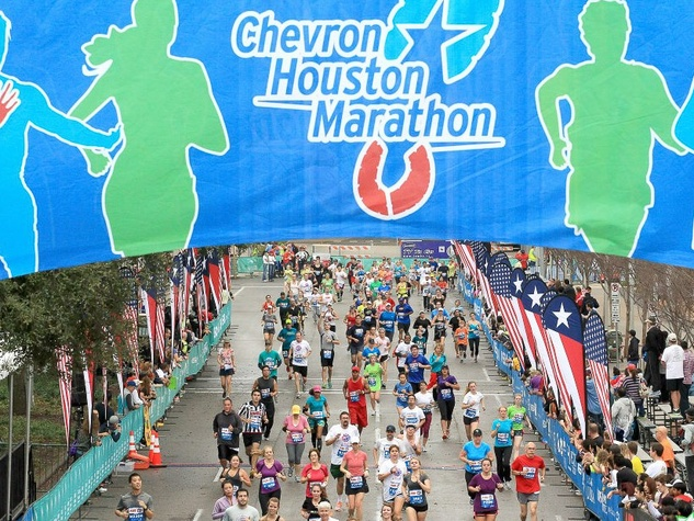 New Houston Marathon route is flatter faster and more scenic