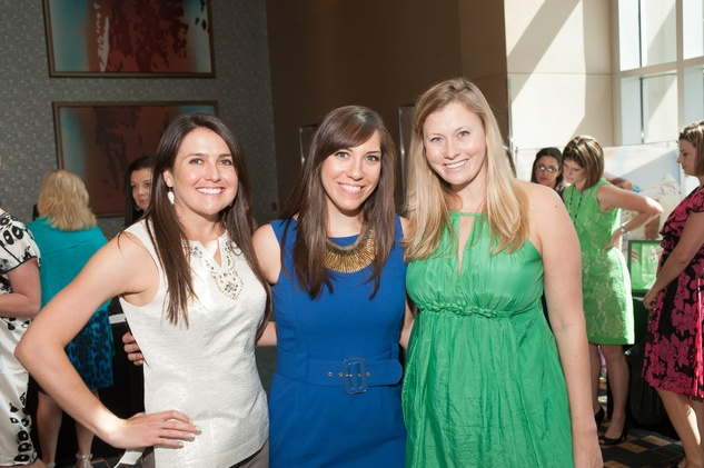 News, Shelby, Woman's Hospital Labor Day luncheon, August 2014, Kristen Quinn, Kimberly Pace, Melissa Hand