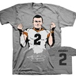 Johnny Manziel money T-shirt.