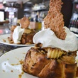 Eleven XI Restaurant & Bar Sunday Brunch teaser with whipped cream