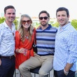 Kevin Hutzler, Morgan Baden, Michael Bowles, Jacob Hite, culturemap cool down at cadillac club byron nelson