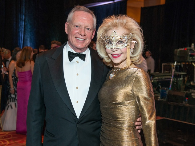 36 Richard Flowers and Lynn Wyatt at the Houston Ballet Ball February 2015