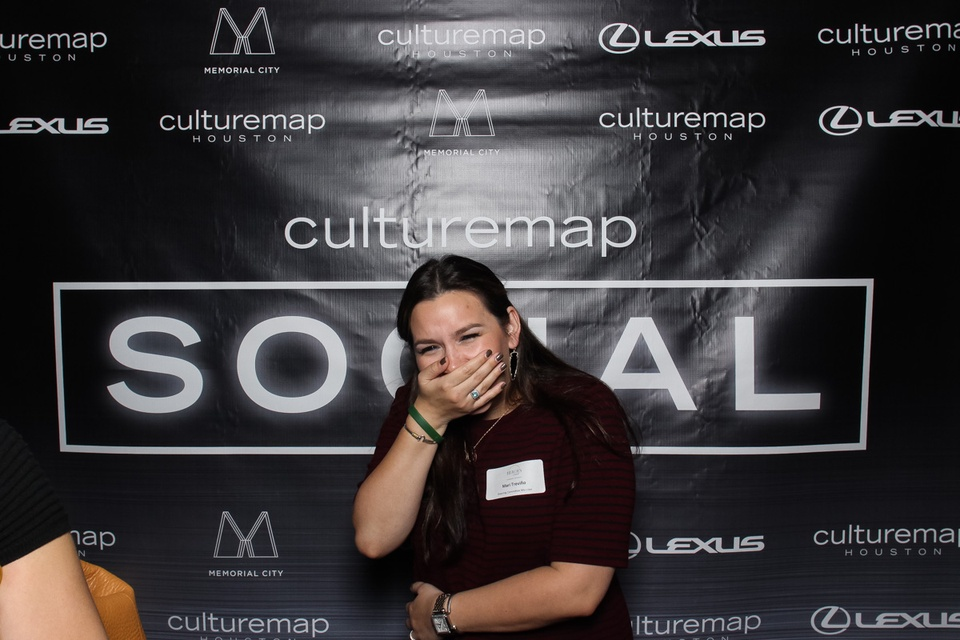 Smilebooth at CultureMap Social at Gateway November 2014