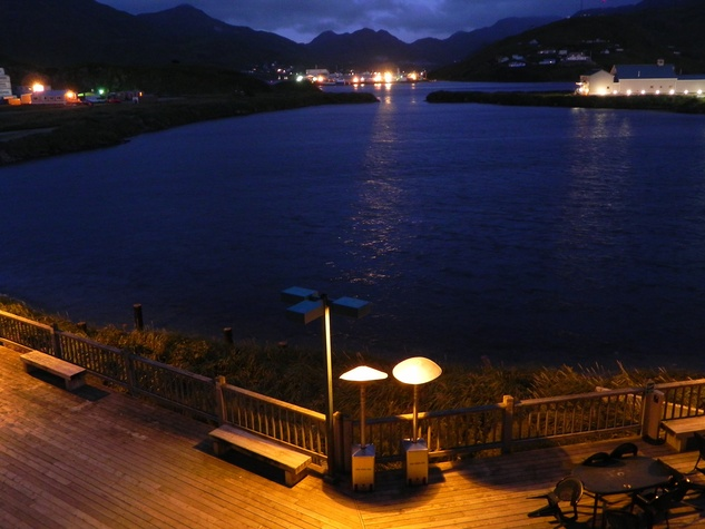 News_UnAlaska_Dutch Harbor at Night