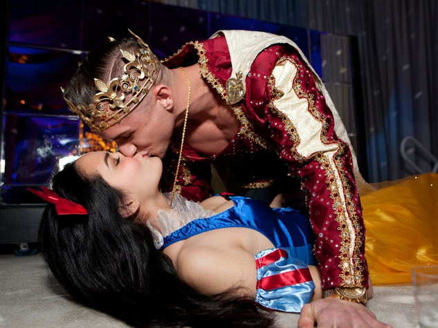 40 Love's First Kiss at the Night Circus party January 2014