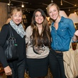 Sara Braud, from left, Lisa Brigel and Laura Braud at the Decorative Center Houston Fall Market October 2014