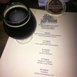 Hay Merchant, first beer dinner, Schmaltz brewing, November 2012, menu, He'Brew Reunion