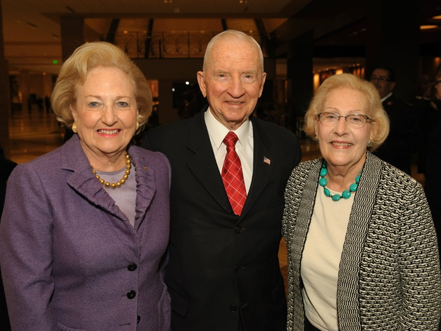 margot perot, ross perot, nancy jamison, doing the most good luncheon