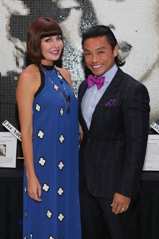 Blue Cure Gala, April 2016, Staci Henderson, Dr. Quang Henderson