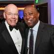 17 Bob Eury, left, and Sylvester Turner at the UH Downtown 40th anniversary gala January 2015