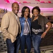 Keith Herod, Tomeka Herod, Shonn Brown at Heart of a Warrior Casino Night