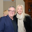 Mark Lowry and Tama Lundquist at Bubba and Mark's Christmas Party December 2014.