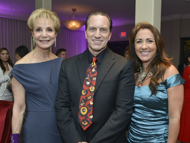 2 Greater Houston Partnership Gala August 2013 Leisa Holland Nelson, Robert Davenport and Marie Guillot
