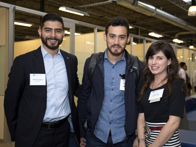 Houston, CHIME YP event at Headquarters, March 2017, Michael Enriquez, Kevin Valdez, Devin Licata