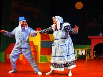 Goodnight Moon at Dallas Children's Theater