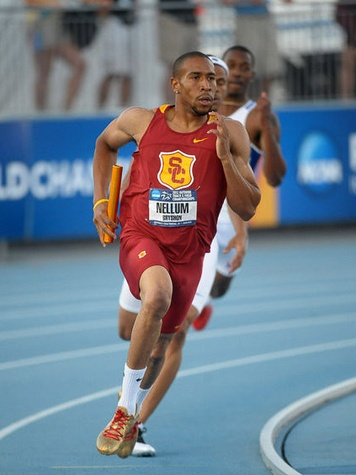 Bryshon Nellum, 2012 Olympics, sprinter, track and field