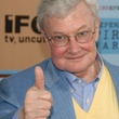 Roger Ebert, young, thumbs up