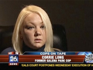 Topless photos of a local police officer causes her police