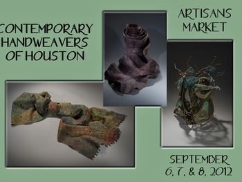 Contermporary Handweavers of Houston Artisans Market